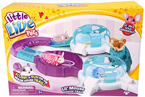 Little Live Pets Lil Mouse Trail Is The Perfect Track For Your Favorite Lil Mouse Pet Friends Build Your Own Mouse Trai Pet Mice Little Live Pets Moose Toys