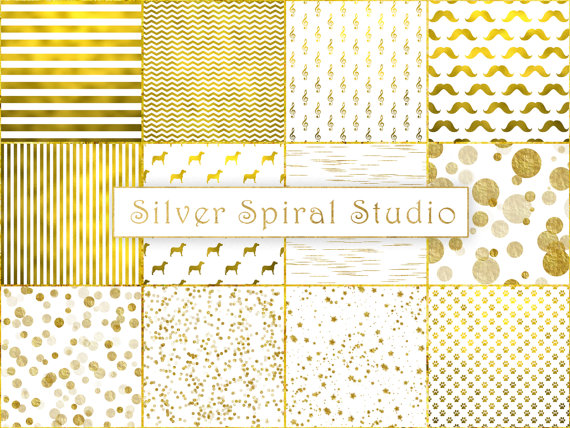 photo about Printable Gold Paper identified as Pretend Gold Foil White Electronic Paper Pack Gold Record