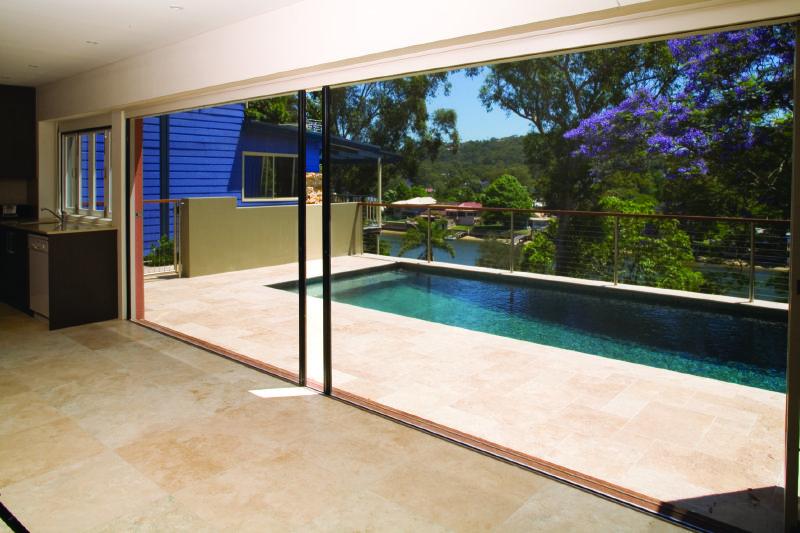 Centor Retractable Screen Over 24 Ft Wide Lift N Slide Door Opening Sliding Patio Doors Patio Doors Retractable Screen