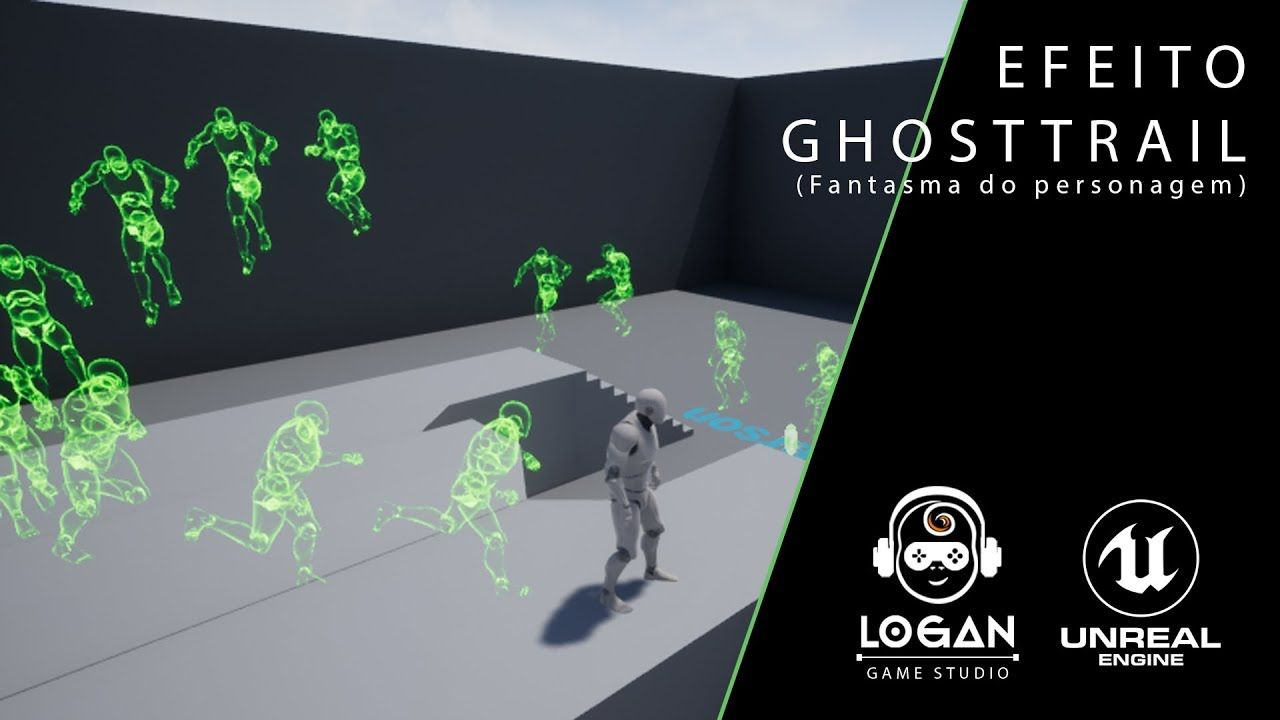 Ghost Trails - Unreal Engine 4 / pt-BR | Digital Media in