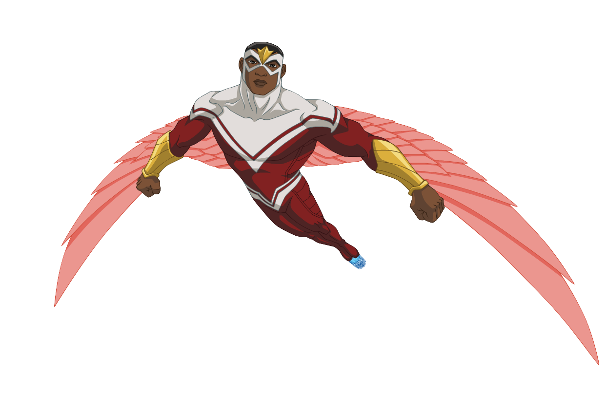 Falcon samuel wilson fav superheros heroes - Faucon avengers ...