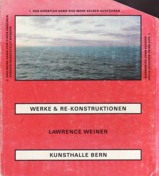 killianflavour:  Lawrence Weiner