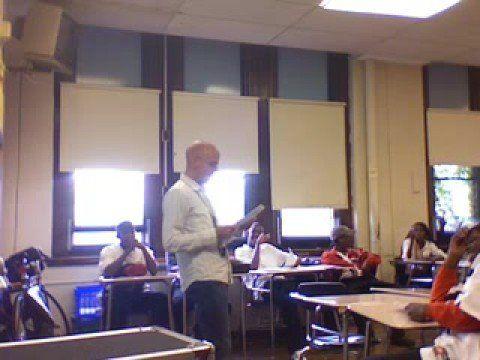 Math teacher raps y=mx+b to Chamillionaire's Ridin Dirty