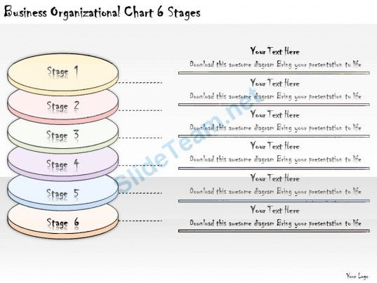 1113 Business Ppt Diagram Business Organizational Chart 6 Stages - business organizational chart