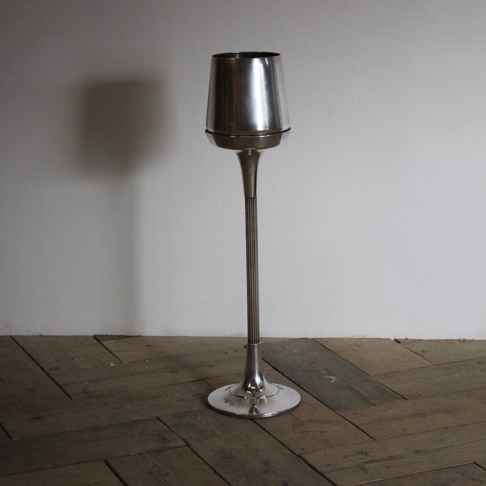 Mid C20th Italian Silver Plated Champagne Wine Bucket On