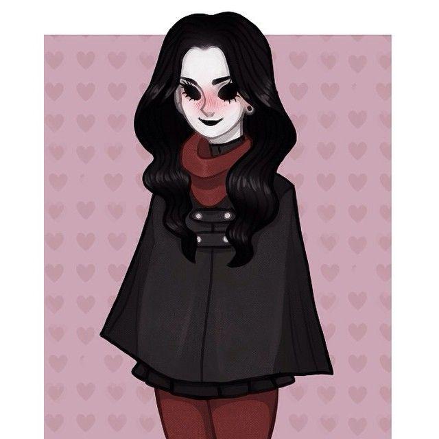 Oh. H-hello! *blushes slightly* - Jane { #creepypasta #janethekiller #jane #the #killer #cute #blush }