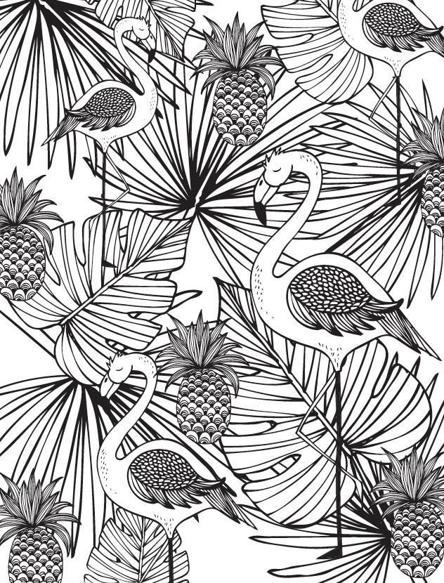 Mandalas y otros dibujos de la selva para colorear   Çini-seramik ...