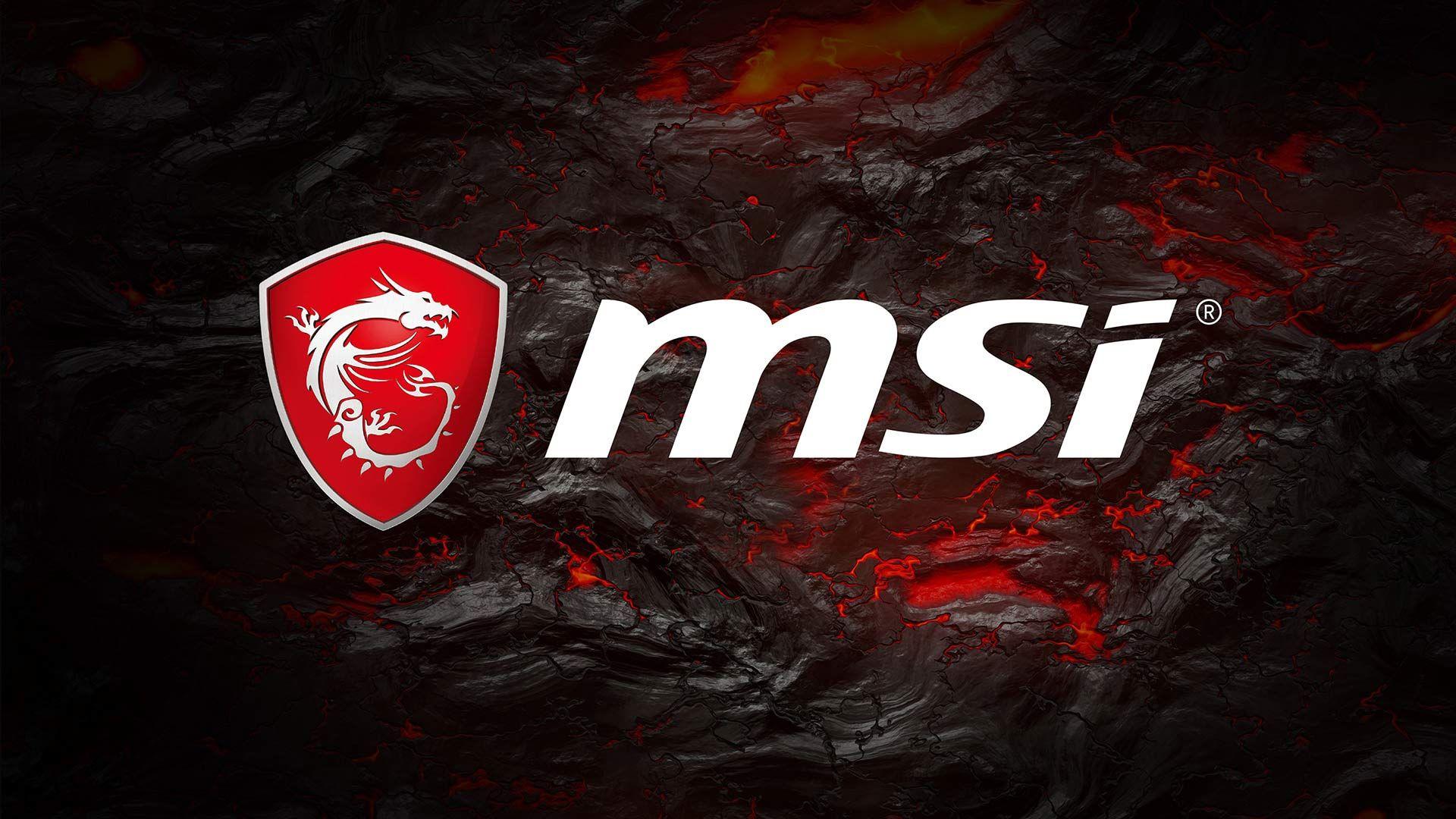 Msi Arsenal Gaming Wallpaper In 2020 Msi Logo Gaming Wallpapers Msi