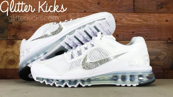 Nike Air Max 360 Running Shoes Blinged Out With Swarovski Crystals -Blinged  Out Nikes 0bc8db86324d