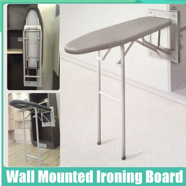 Pull Out Folding Wall Mounted Ironing Board Fold Mount Space