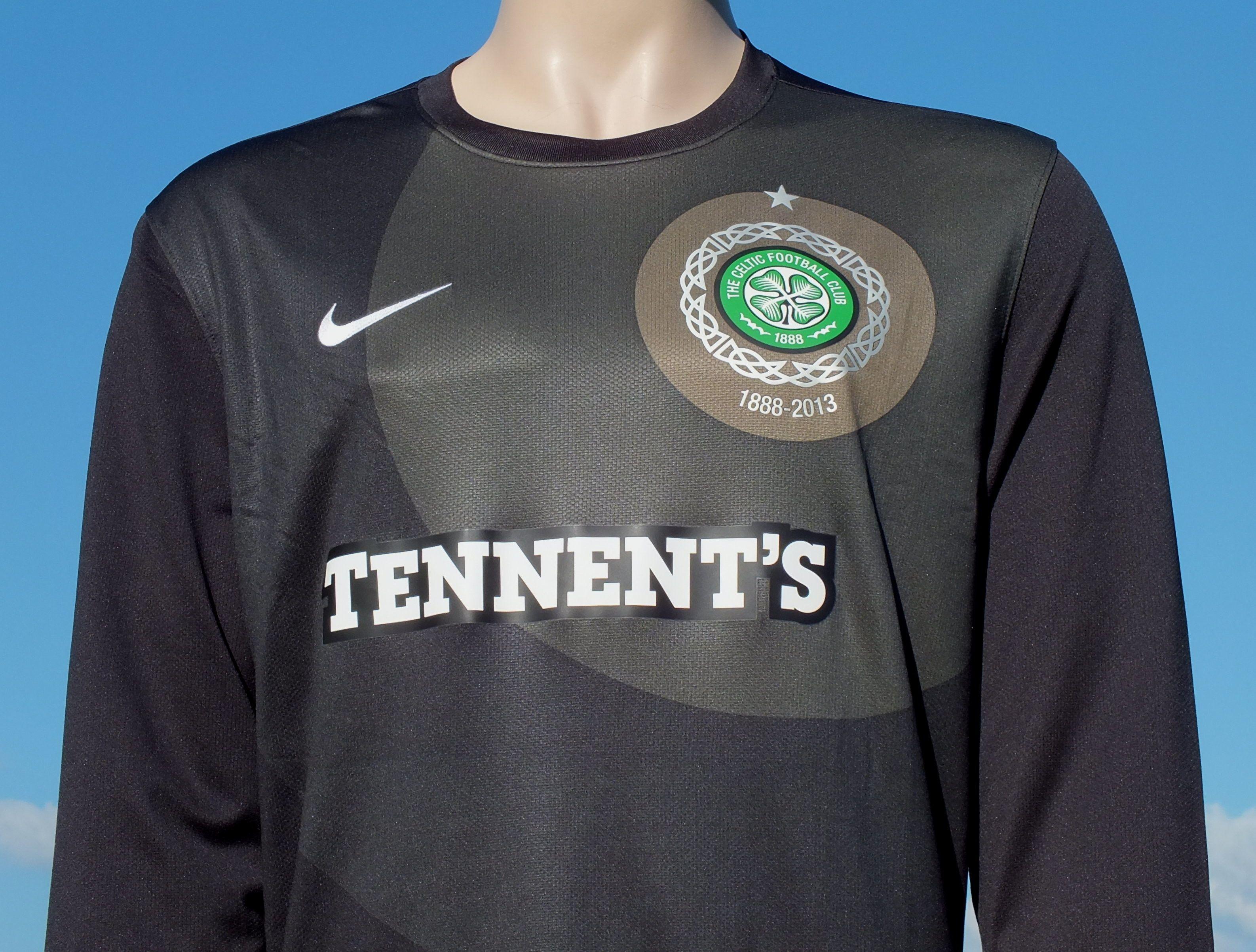 Celtic FC Nike Away Season 2012-2013 Goalkeeper Shirt 125th Anniversary Replica Edition