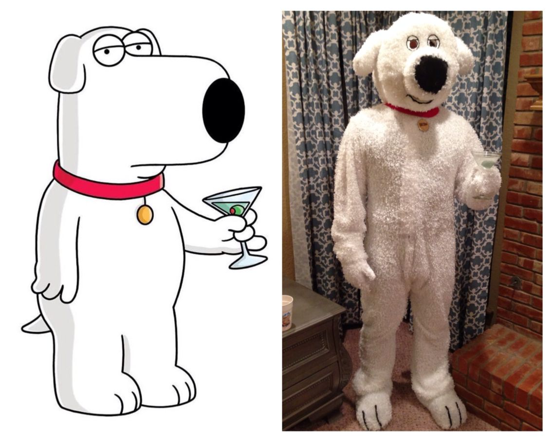Homemade Family Guy Halloween costumes. Stewie Griffin ...