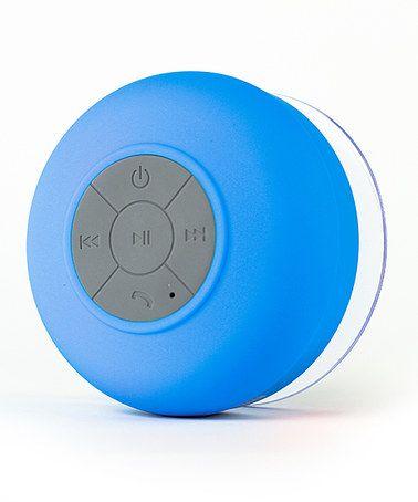 Another great find on #zulily! Blue Splash Shower Tunes Wireless Speaker #zulilyfinds