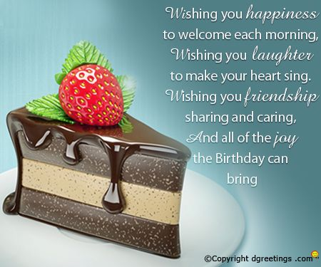 Short Birthday Wishes For Best Friend ~ Wishing you a stress free and joyous birthday dear boss