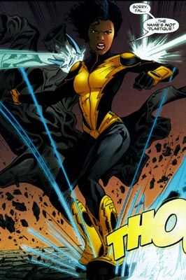 Thunder. Anissa Pierce. DC Comics. Black female superheroes ...