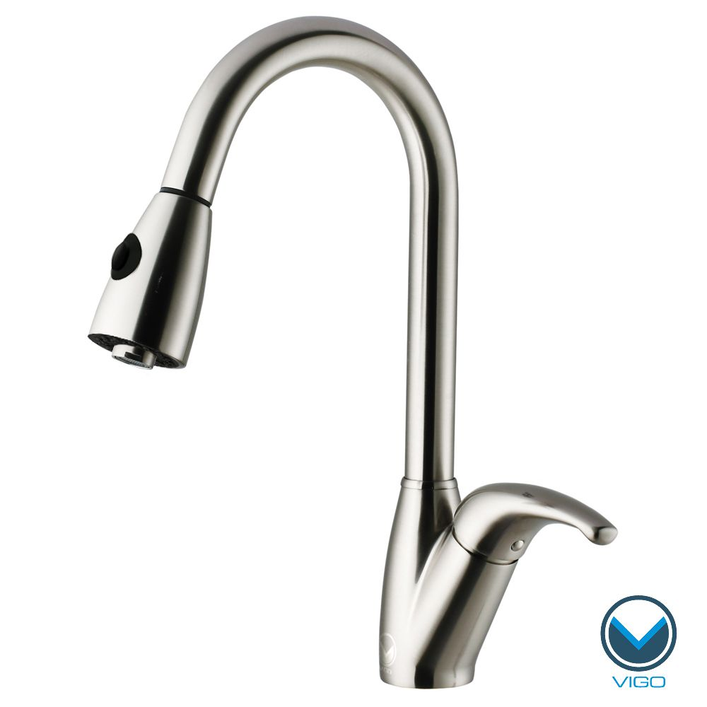 Update Your Kitchen Sink With This Pull Out Stainless Steel Faucet
