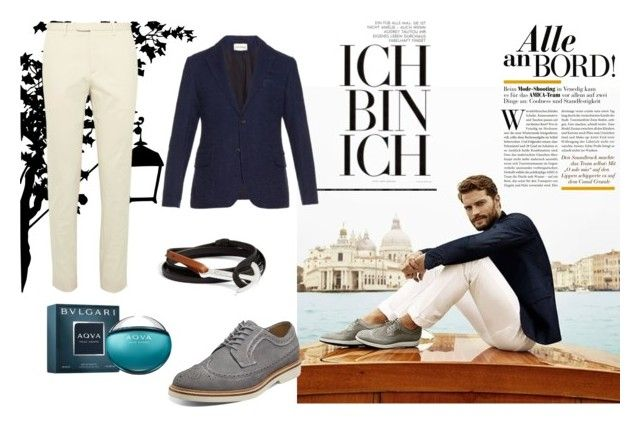 """Ja!"" by fahira-1 ❤ liked on Polyvore featuring Gucci, Florsheim, Bulgari, Oliver Spencer, MIANSAI, mens, men, men's wear, mens wear and male"