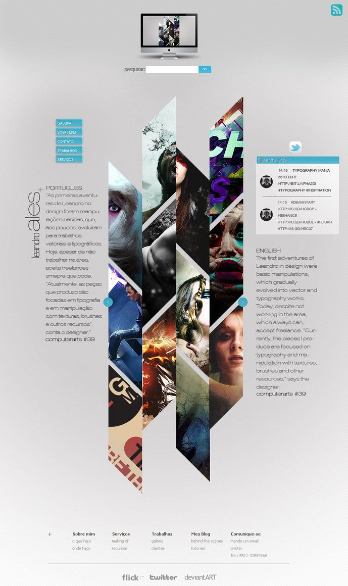 Ideas & Inspirations für Web Designs Alesproject Layout. Schweizer ...