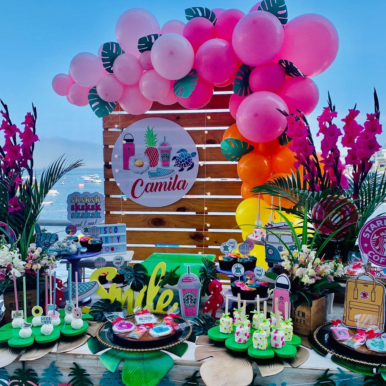 Vsco Girl Party Summer Birthday Party Girls Birthday Party Decorations Girls Party Decorations