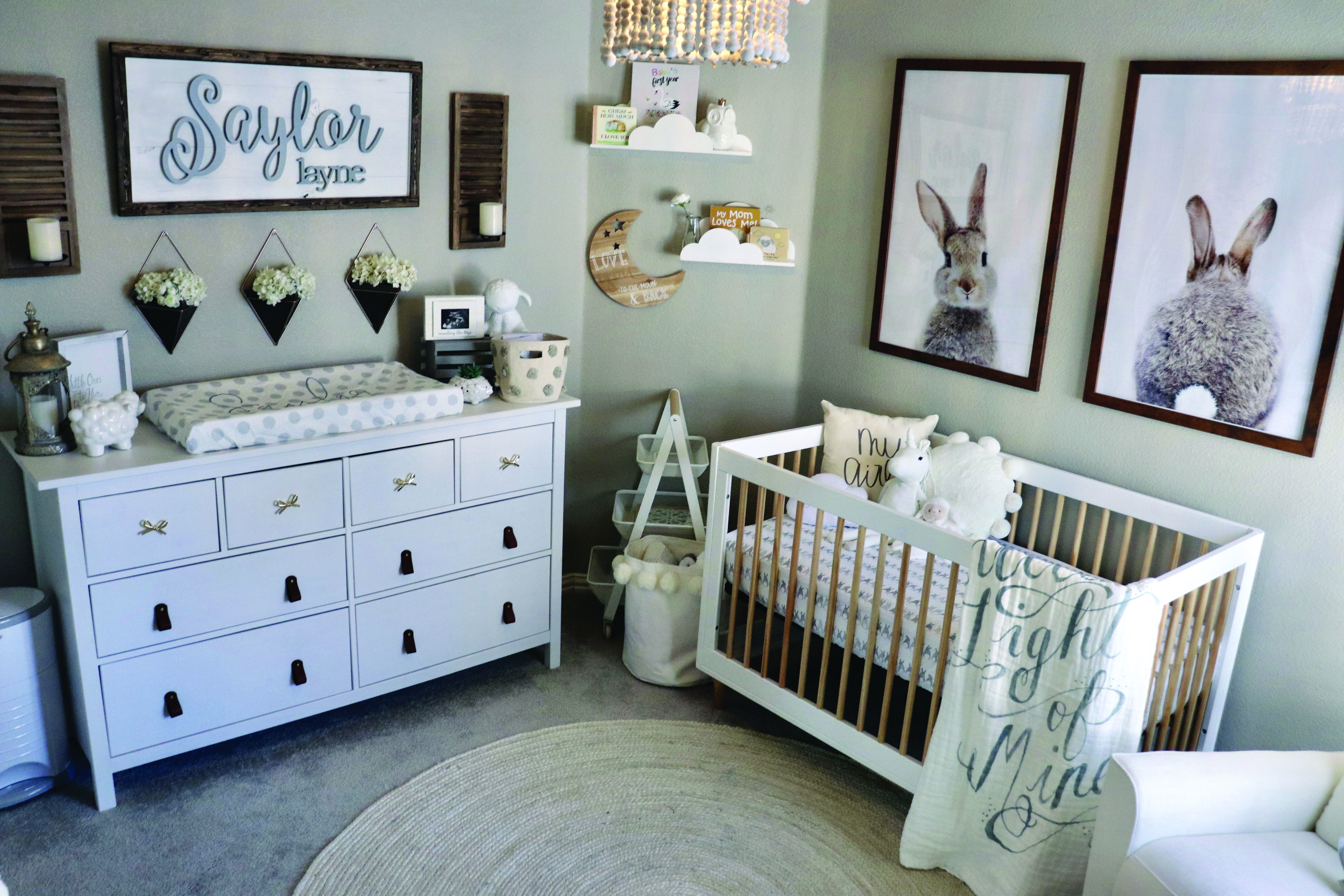 Sweet and also Simple Nursery Designs - Homes Tre  Nursery baby