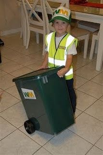 Toddler Garbageman Costume Halloween Garbage Man Costume Idea I Need To Find All Of These