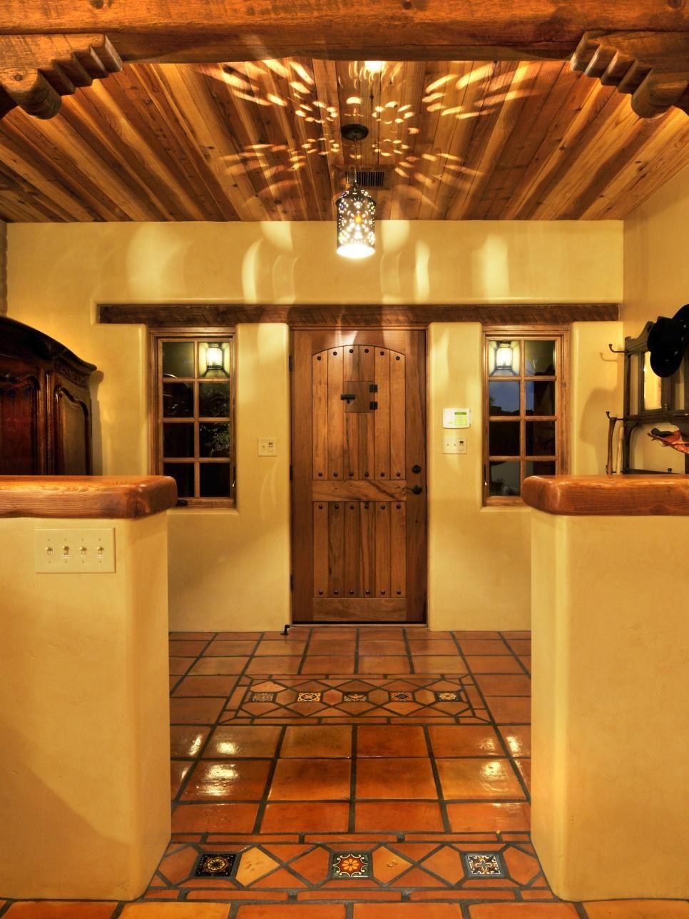 Spanish Interior Design 10 spanish-inspired rooms | hgtv, front doors and doors