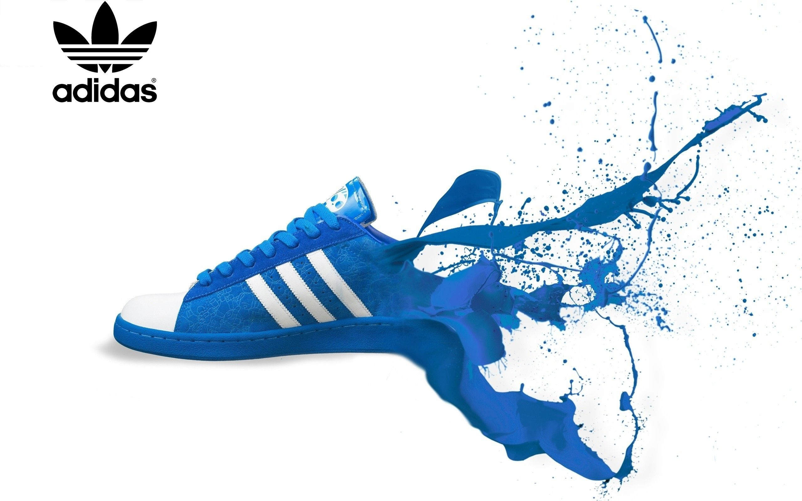 Adidas Logo Splash Shoes Wallpaper Your Top HD Wallpapers (shared via  SlingPic)