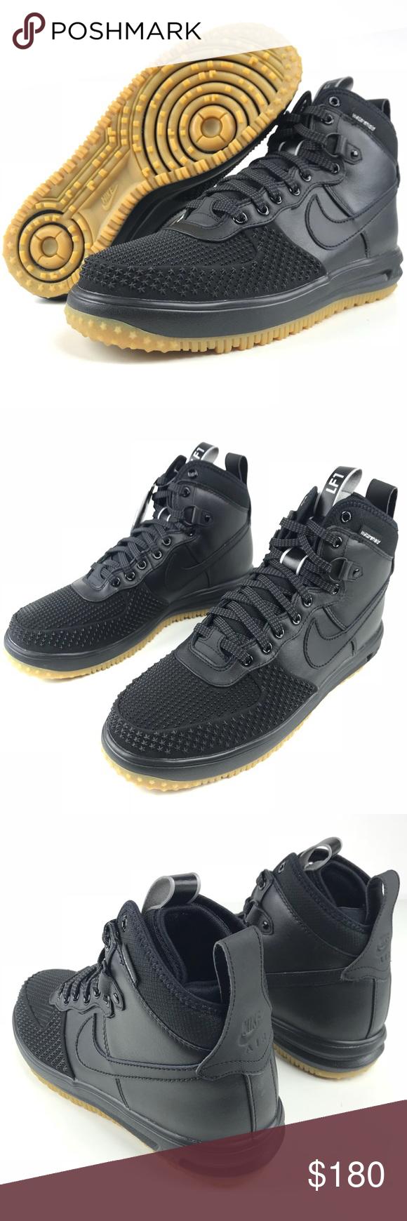 Nike Lunar Force 1 Duckboot Black Where To Buy 805899