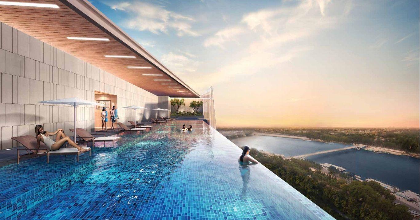 Infinity Pool Google Search Rooftop Glass Urban