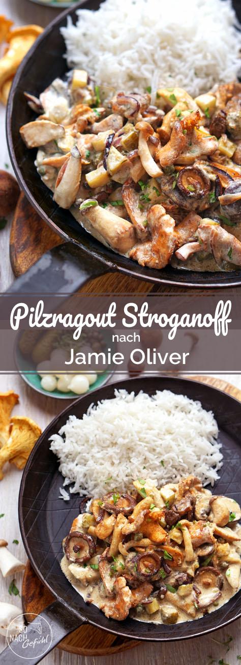 Pilzragout Stroganoff nach Jamie Oliver - So nach Gefühl