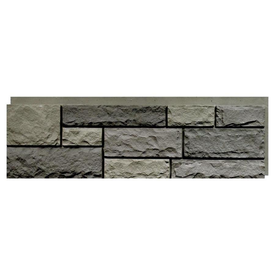 Nextstone Random Rock 19 Sq Ft Mountain Shadow Faux Stone Veneer