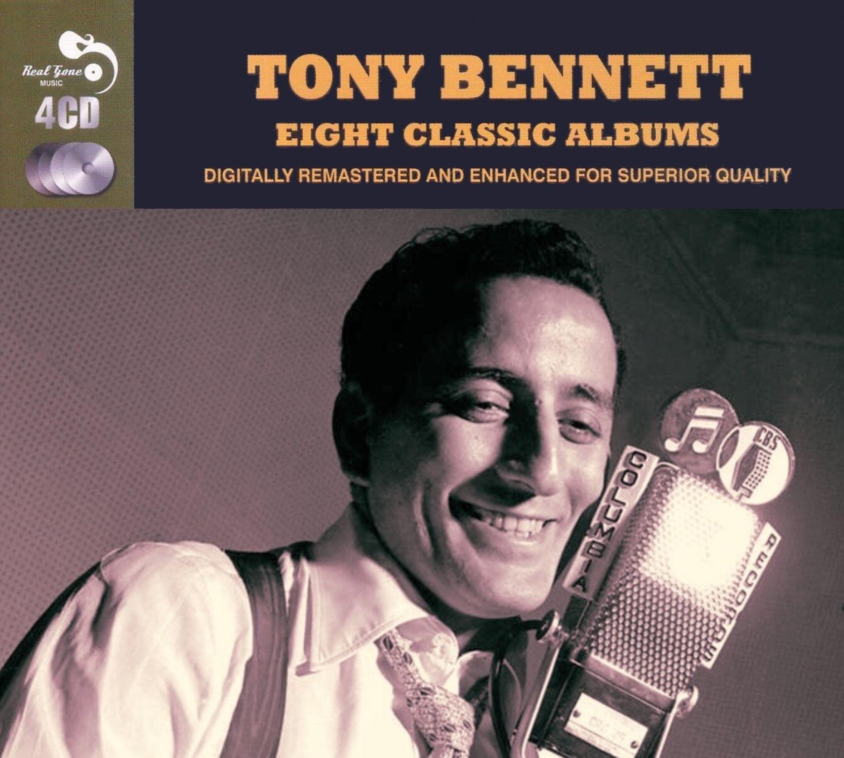 Tony Bennett Eight Classic Albums 4cd Box Set E U Only 2013 Tony Bennett Tony Album