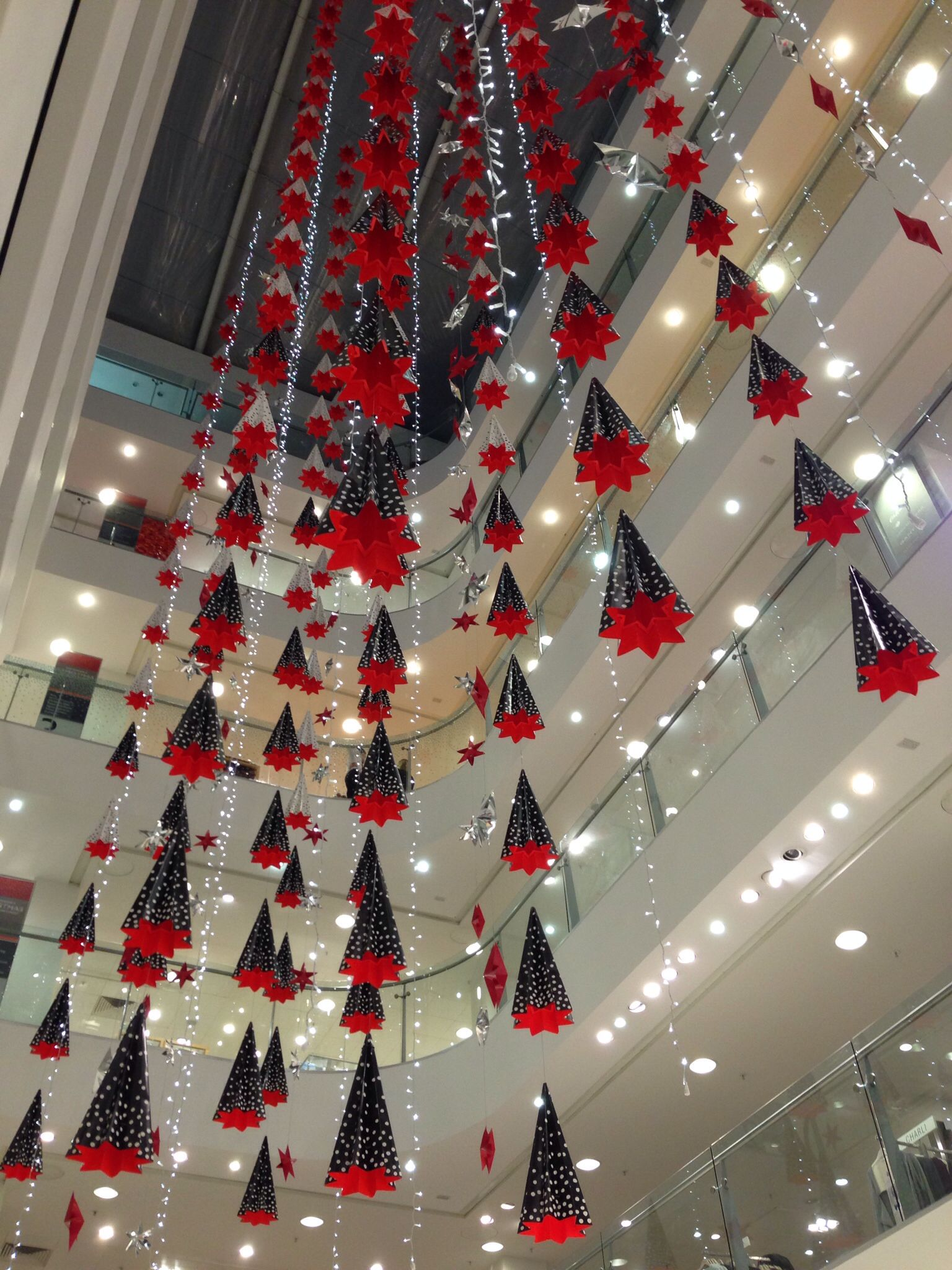 Christmas Decorations Are Up In John Lewis