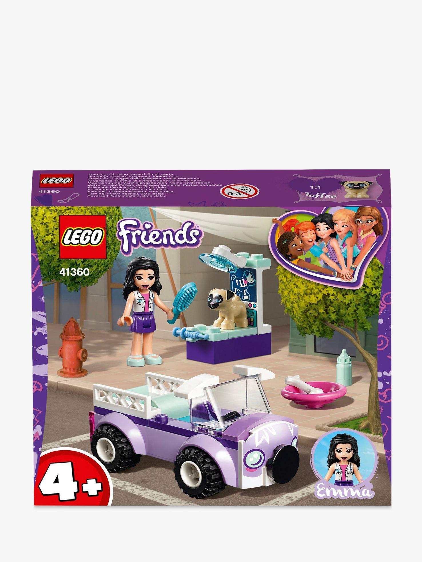 41360 LEGO FRIENDS Emma/'s Mobile Vet Clinic Playset