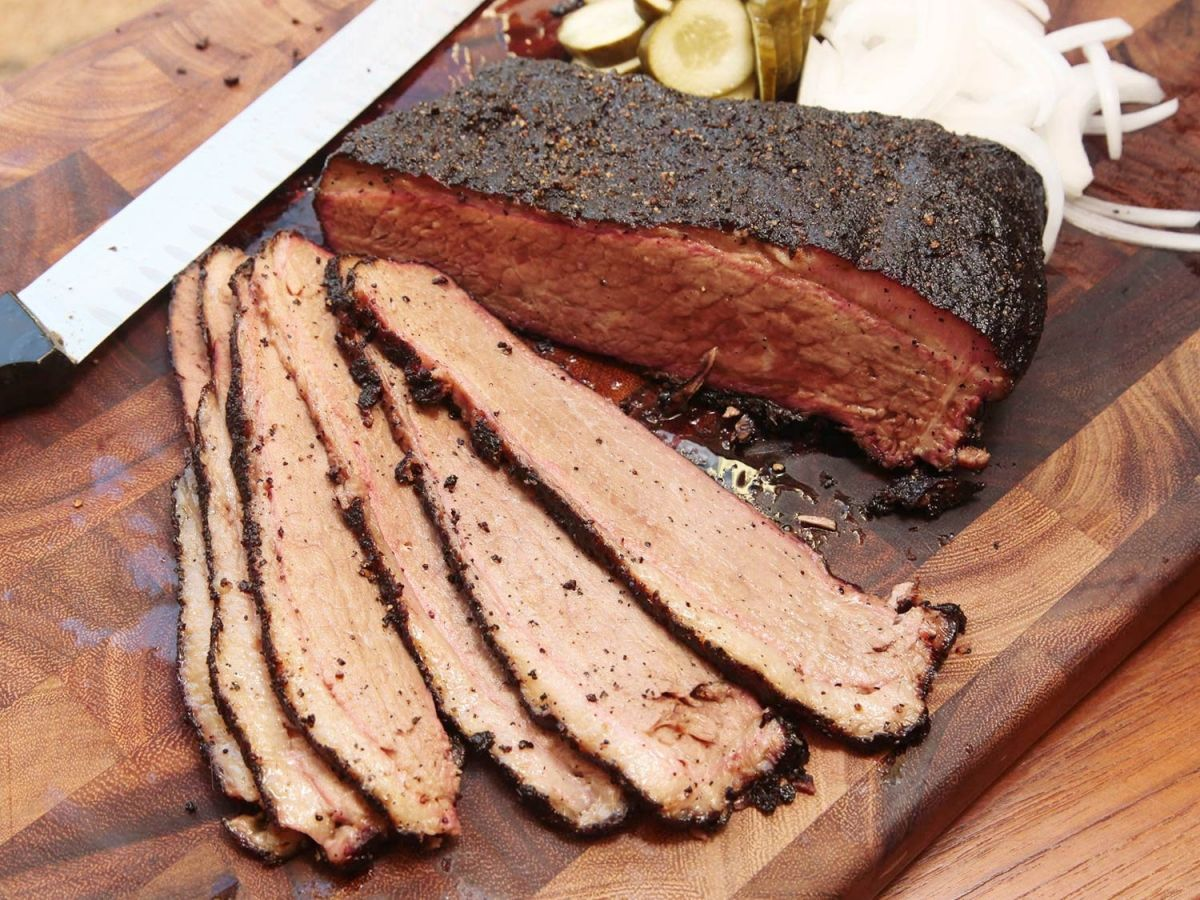Depending On The Temperature You Set Your Water Bath To And The Amount Of Time You Leave The Meat In It You Can Ach Smoked Brisket Smoked Food Recipes Brisket