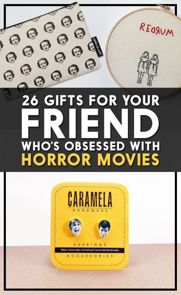 26 Gifts For Your Friend Who S Obsessed With Horror Movies Buy Me