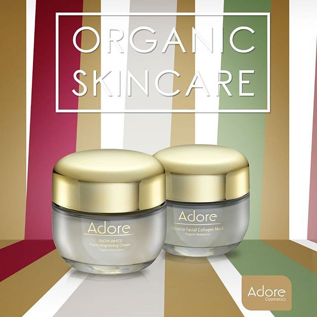 Adore Cosmetics Results You Can See Have You Tried Our Brightening Cream Or Essence Facial Find Yours I Brightening Cream Organic Skin Care Natural Skin Care
