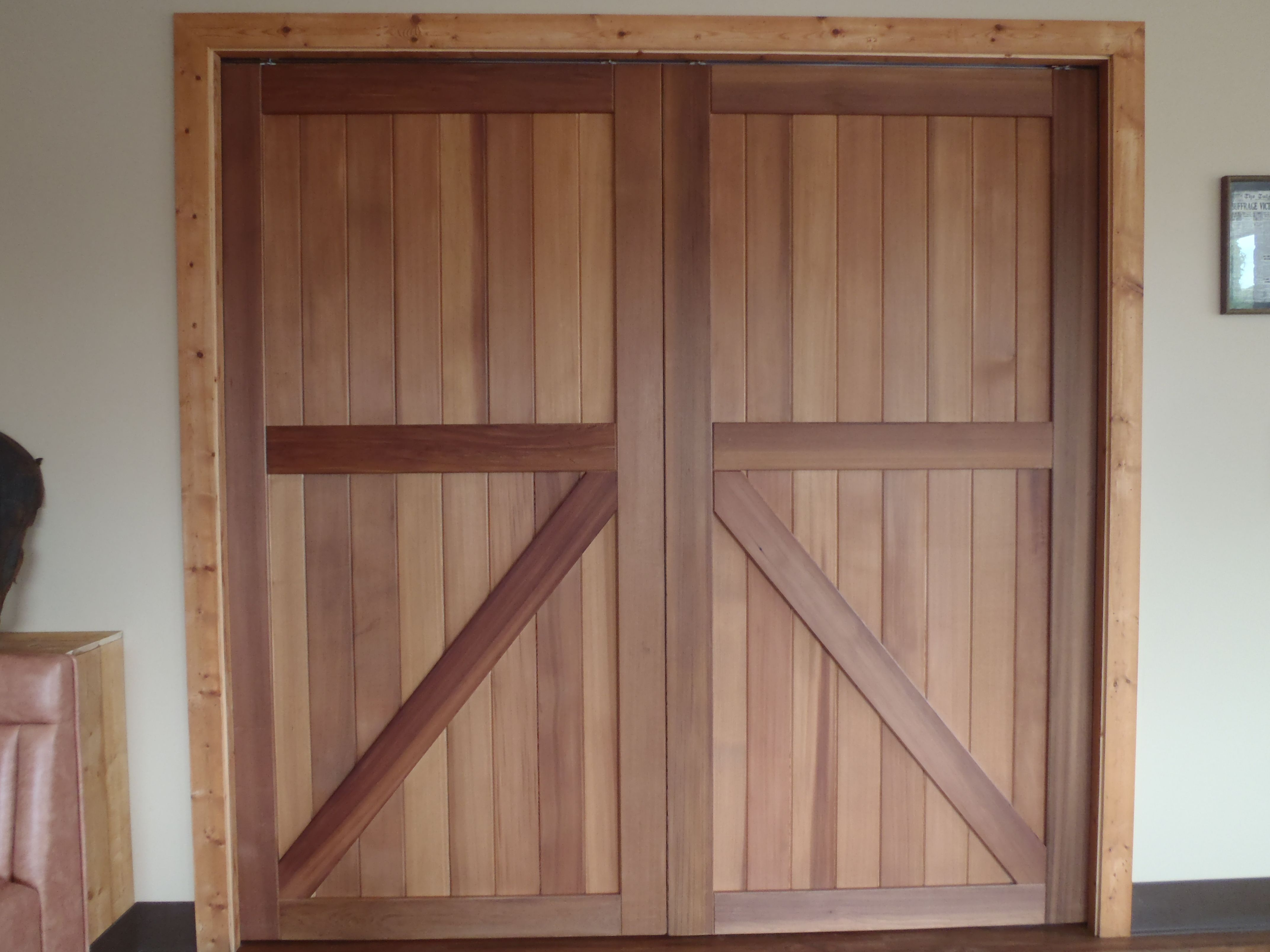 Farm doors sliding barn door from a forsaken farm stead for Barn door design ideas