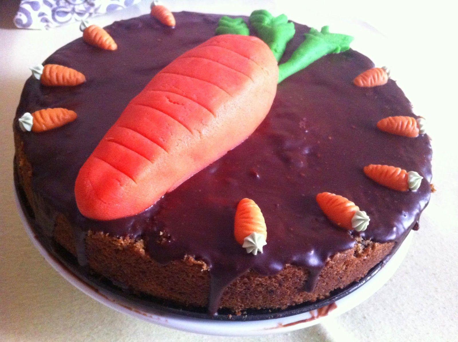 Last but not Least: Ein saftiger Karottenkuchen diente auch für die Geburtstagsparty bei Petzi