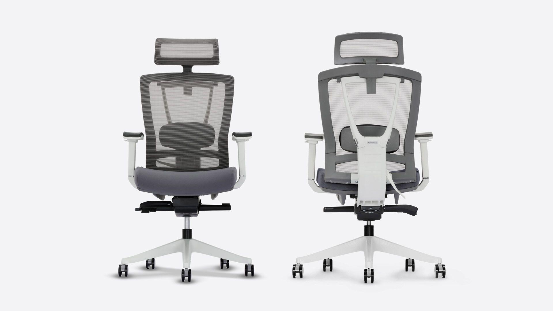 Ergochair 2 cool gray office chair ergonomic chair