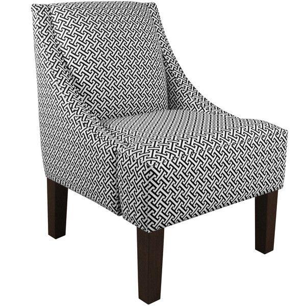 Skyline Furniture Cross Section Swoop Arm Chair U0026 Reviews | Wayfair