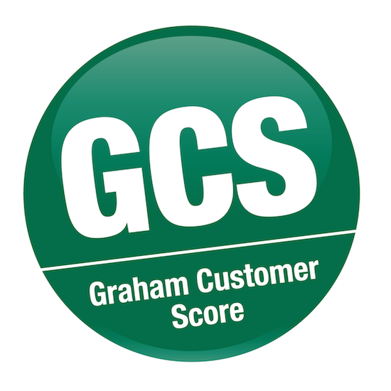 THANK YOU FOR OUR NEW CUSTOMER SCORE! Company logo