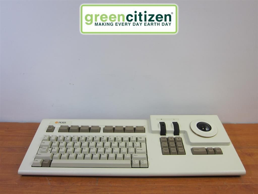 Amkey 93 0002 Vintage Picker Terminal Keyboard W Trackball Keyboard Computer Keyboard Keyboards