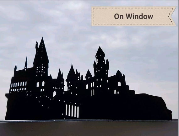 Hogwarts Castle Silhouette Golfclub Hogwarts Castle Silhouette Castle Silhouette Hogwarts Silhouette