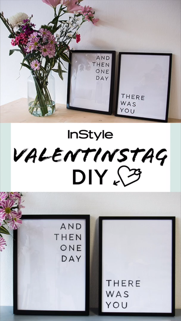 Photo of Valentine's Day: Great DIY decoration gifts everyone is happy about ❤️