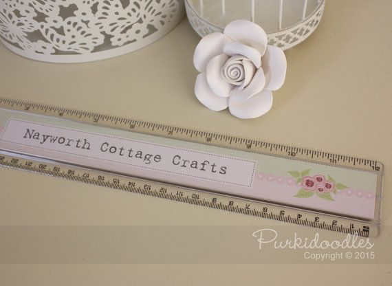 Rulers (Business) - customised with company name / logo
