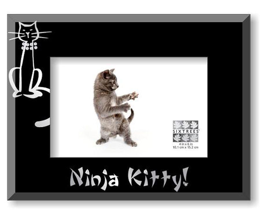 Limediva Sixtrees Ninja Kitty Glass Photo Frame 1699 Http