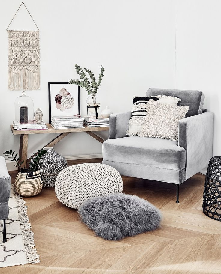 Samt sessel fluente in 2019 ilixir samt sessel boho for Wohnzimmer stylisch
