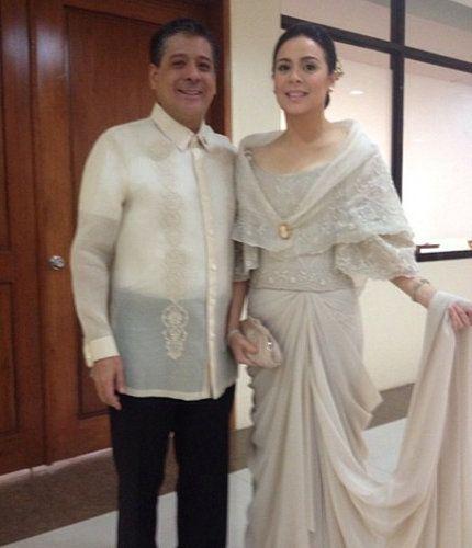 Anton Lagdameo And Wife Dawn Zulueta In Sona 2017