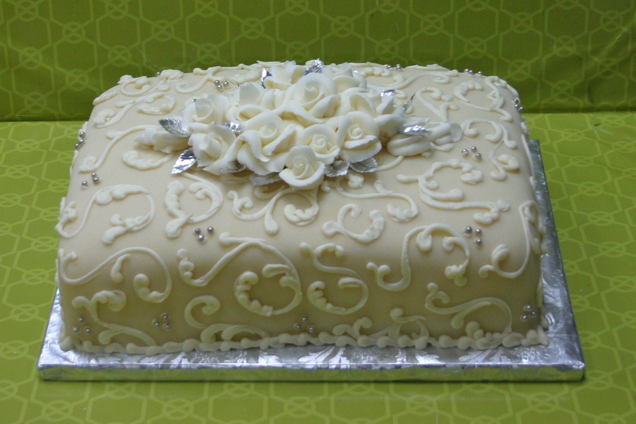Show & Tell Sunday Wedding sheet cakes, Sheet cake